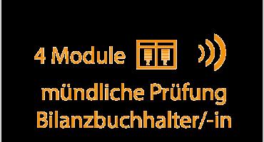 mündliche Prüfung Bilanzbuchhalter 4 Module