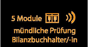 mündliche Prüfung Bilanzbuchhalter 5 Module