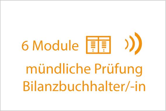 mündliche Prüfung Bilanzbuchhalter 6 Module
