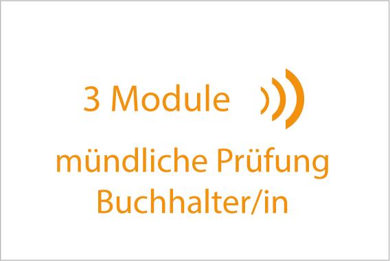 mündliche Prüfung Buchhalterin 3 Module